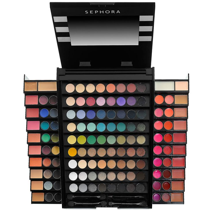 $49 Makeup Academy Blockbuster - @Sephora This would be great for any teen or early 20's makeup addict. Grown women would have their own preferences but to someone still finding their makeup personality, this would be amazing. - @Elaine Hwa Madelon GIFT IDEAS