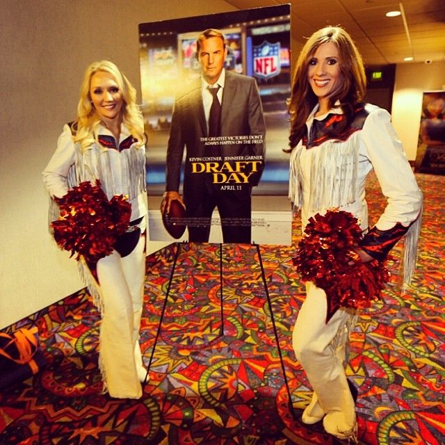 SnapWidget | #Broncos season ticket holders got a chance to screen the movie Draft Day tonight. View more photos from the event at DenverBroncos.com!
