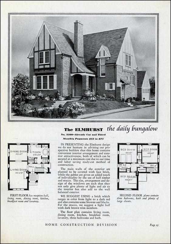 Best Sears Kit Homes Images On Pinterest Kit Homes Vintage