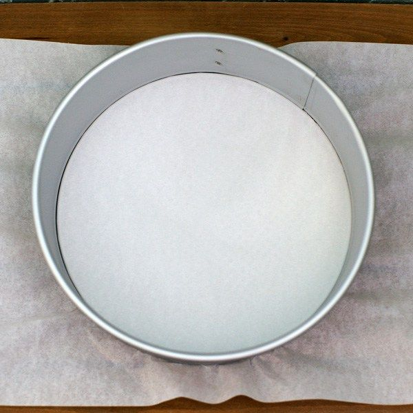 Prep a Spring Form with Parchment