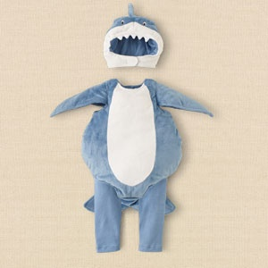 shark costume - this is what Liam will be for Halloween. He's my little baby shark :)