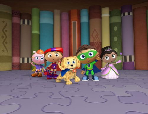 12 Best Images About Super Why And The Super Readers On