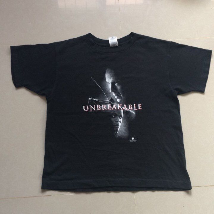 Vintage '00 Unbreakable Film M. Night Shyamalan Bruce Willis Samuel Jackson