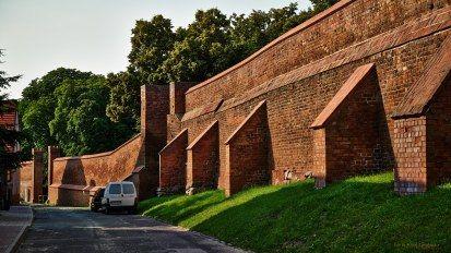 Chełmno - miejskie mury obronne