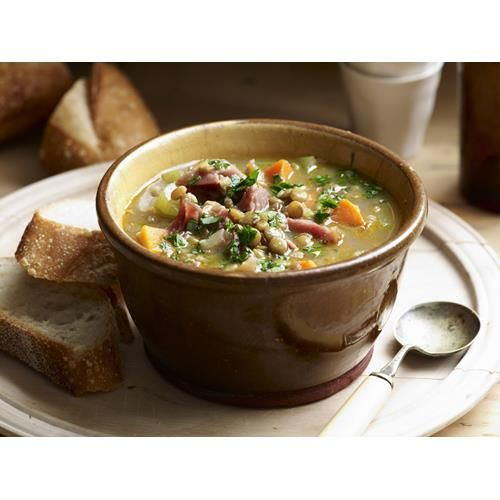 Ham and lentil soup recipe - By Australian Women's Weekly, Keep the whole family…