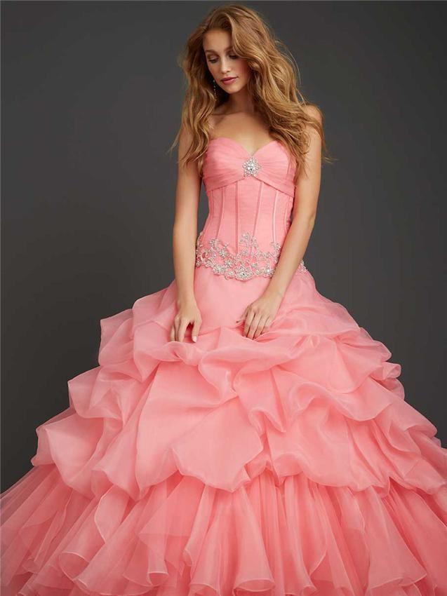 17 best Quinceanera Dresses images on Pinterest   Ballroom dress ...
