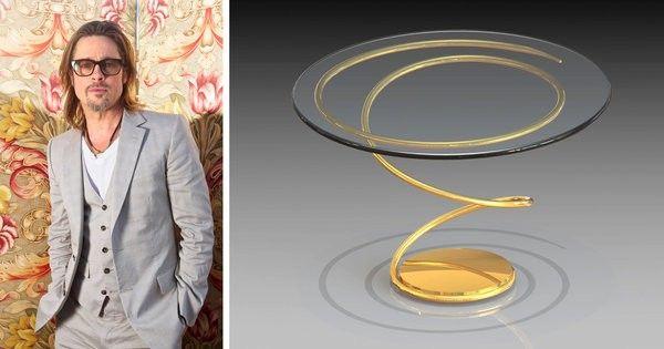 Brad Pitt – Art, metal art, furniture, metal furniture