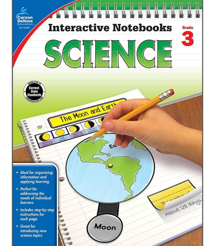 Time-Saving interactive notebook templates that allow students to show what they know! Interactive Notebooks: Science for third grade is a fun way to teach and reinforce effective note taking for stud