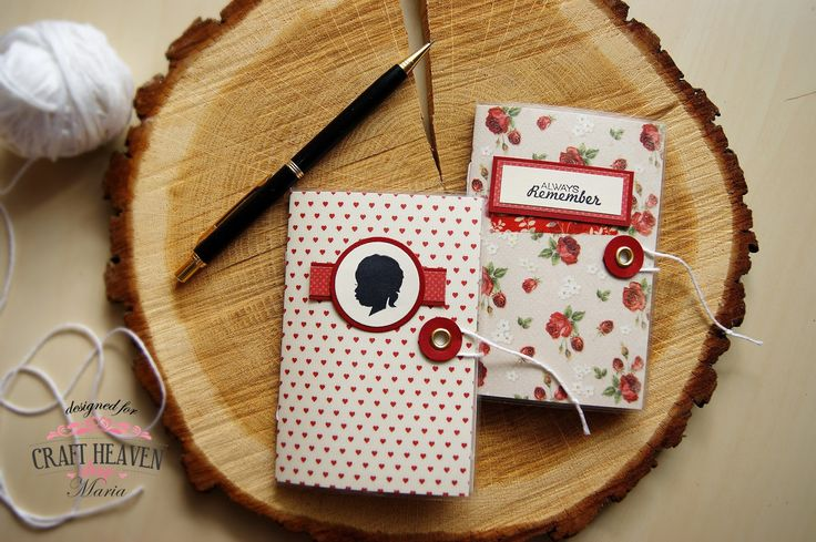 Lollyrot Scrapbooking: Mini notebooks