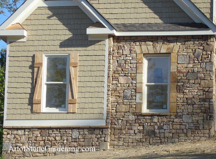 Home Exterior Stone Work Ideas 20 Pinterest