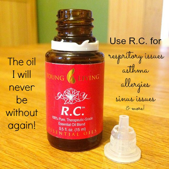R.C. Essential Oil Blend from Young Living...great for respiratory issues!  https://www.youngliving.org/2423944