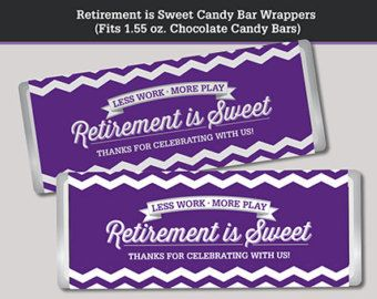 Retirement Party Printable Package Navy Blue by LisaMariesaDesign