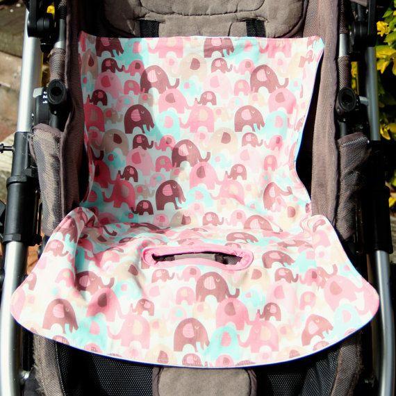 Pink Elephants  Toilet Training Mat by OneCrazyMumma on Etsy