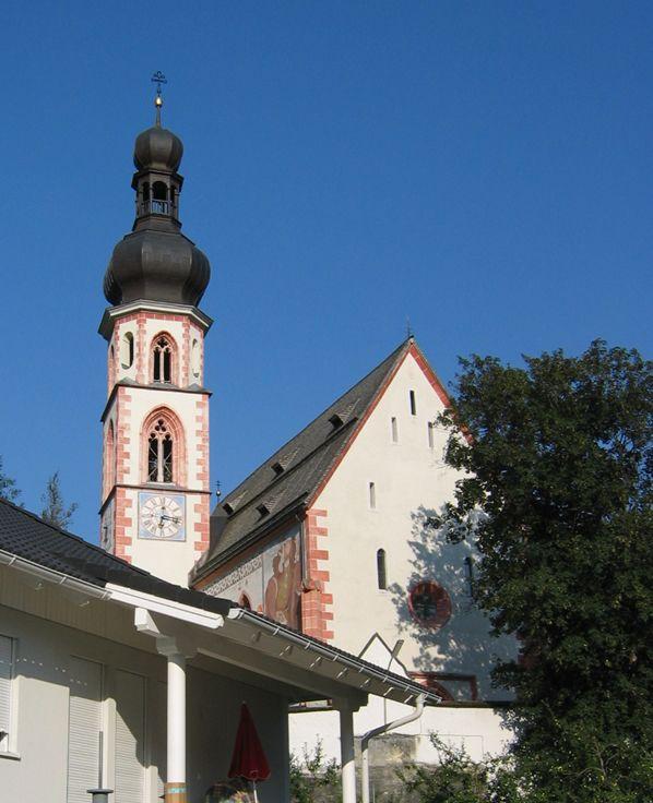 Haiming, Pfarrkirche Hll. Chrysanth und Daria (Imst) Tirol AUT