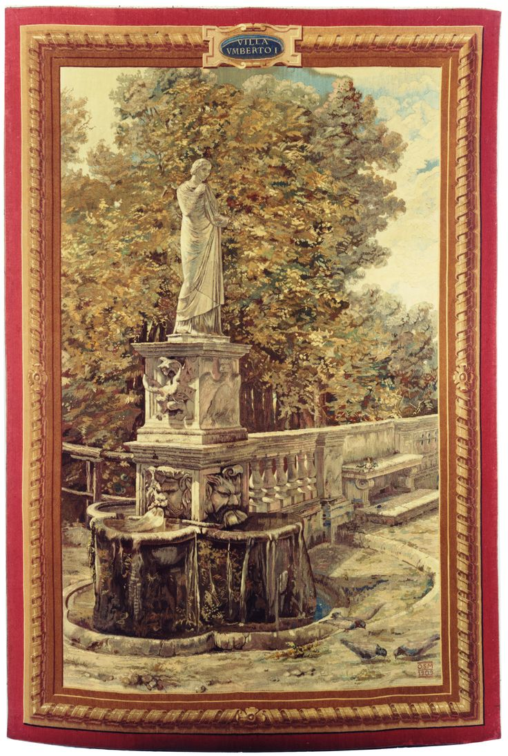 Arazzo Opificio San Michela a Ripa - Roma 1909