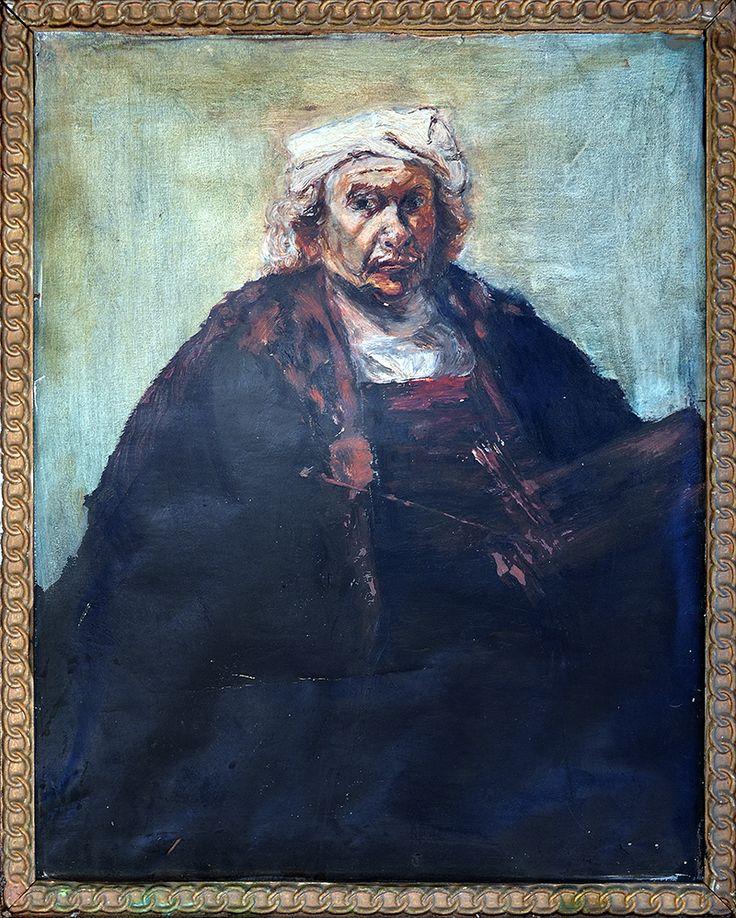 Copy of a Rembrandt self portrait