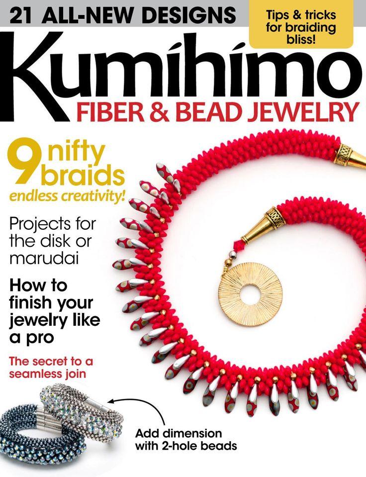 Bead&button kumihimo fiber&bead jewelry 2016