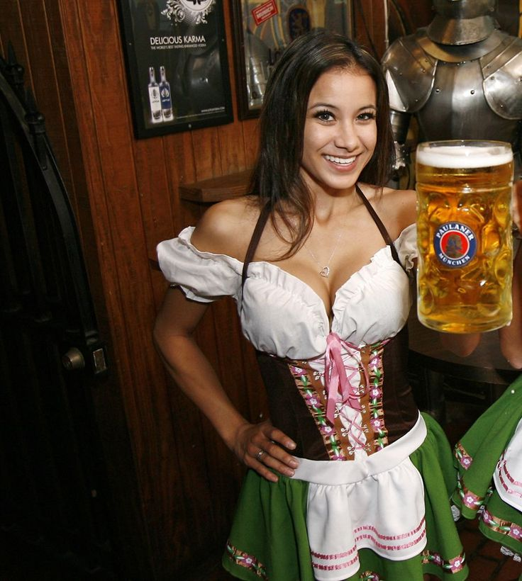 Plus size beer girl gretchen costume