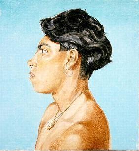 Reeve, James  : Portrait of Pancho, 1985 (...