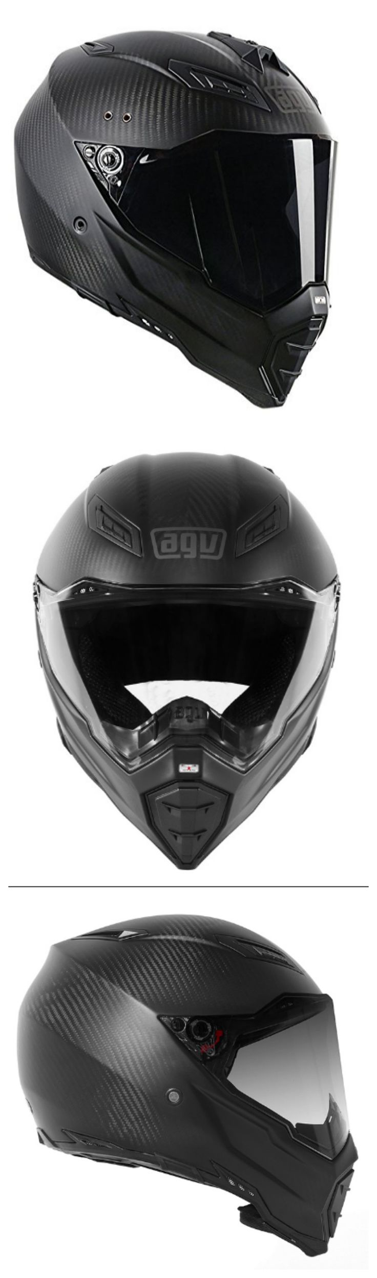 AGV AX 8 Evo Naked Road Helmets Carbon Fiber Tall