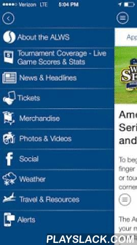 American Legion World Series  Android App - playslack.com , American Legion World Series App for AndroidThe American Legion World Series App is your mobile companion to help you follow your favorite American Legion baseball teams as they compete to reach the American Legion Baseball World Series. The official ALWS application offers the following features:2015 Features:•Regional and World Series schedules, pairings, scores, stats, photos, and weather •News and headlines•Ticket…