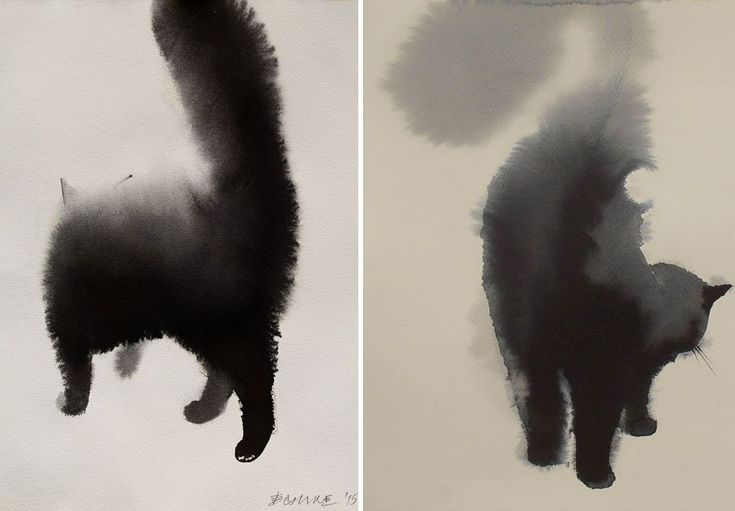 watercolor-cats-ink-paitings-endre-penovac-11