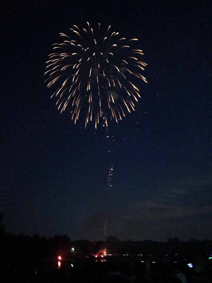 Got a few okay pics of fireworks