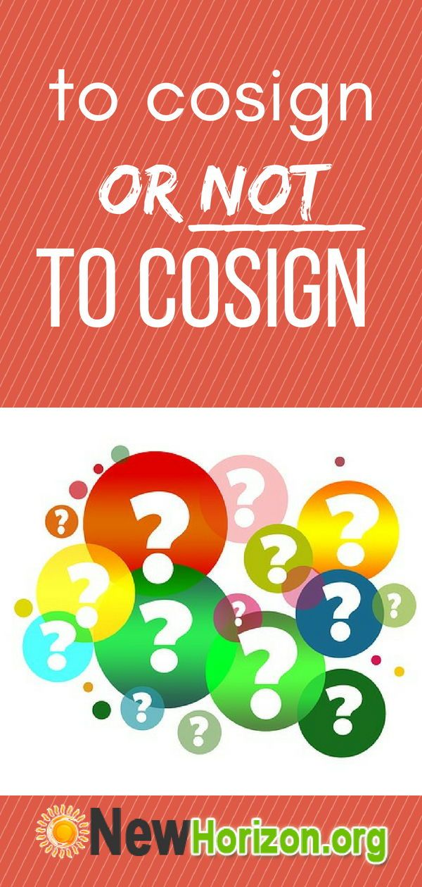 how to find a cosigner