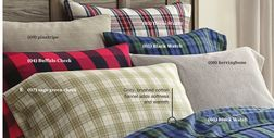 WholeHome® Jasper Flannel Duvet Sheet Set from Sears Catalogue  $59.99 (25% Off) -