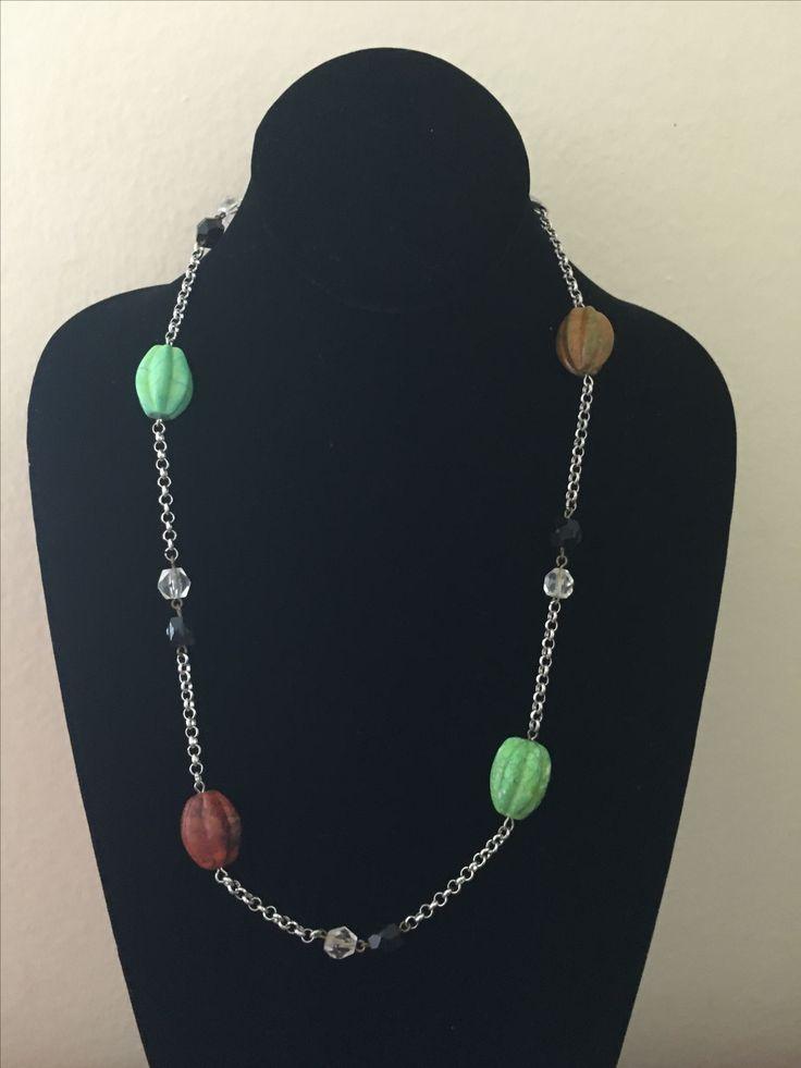Big beaded necklace by MaxAna X