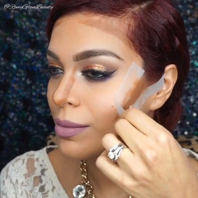 How to tape contour (!)