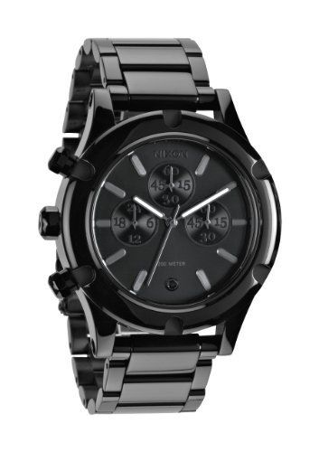 nixon camden chrono s all black one size