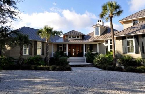 Best Medium Bronze Metal Roof Beach House Exterior House 400 x 300