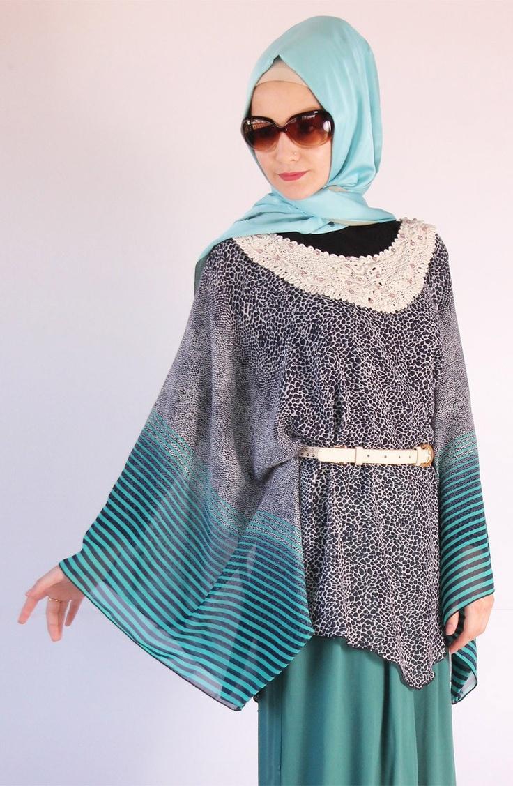 Empirme bluz kemerli / 8026, 2013 tesettür tunik modelleri, tesettür, tesettur, hijab, yarasa kol, karaca butik, tesettür kıyafeti, tesettür bluz, krep tunik, şifon, desenli tunik, yaz desenleri, tesettür sipariş, telefonda sipariş