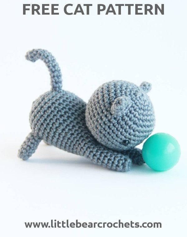 Funny and Amazing 45 Crochet Amigurumi Cat for 2019 Season - Page ... | 762x600