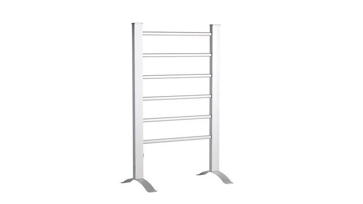 Goldair Free Standing Heated Towel Rail | Domayne