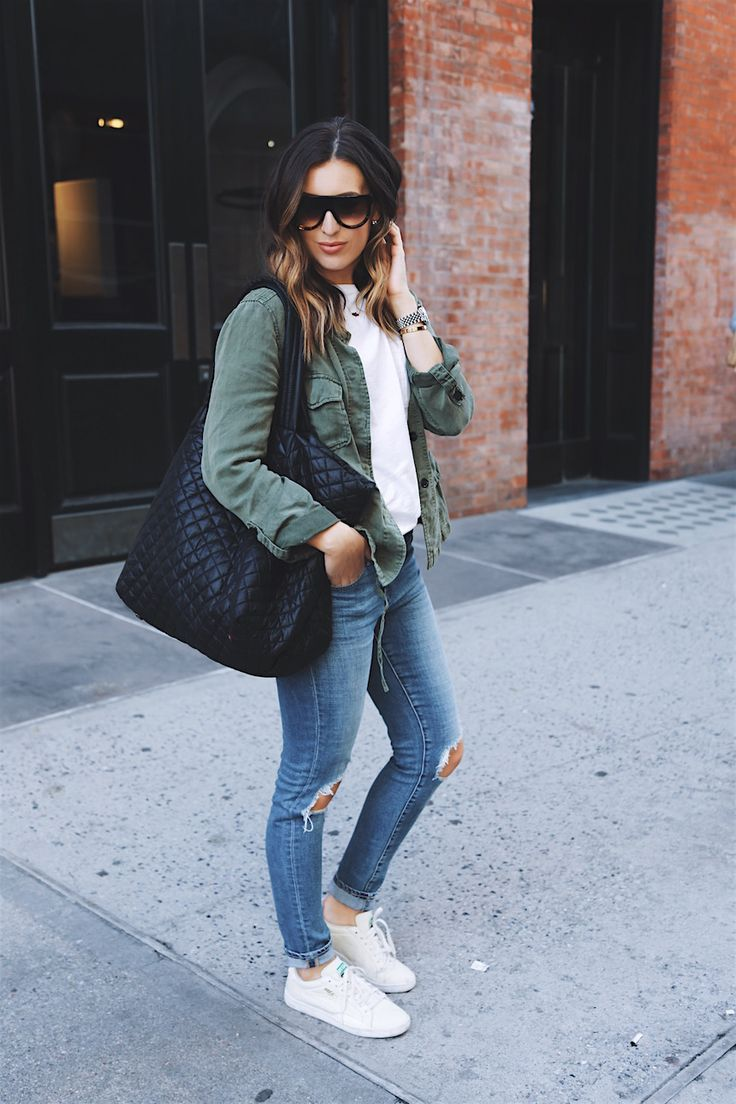 Weekend street style using the MZ Wallace quilted Large ...
