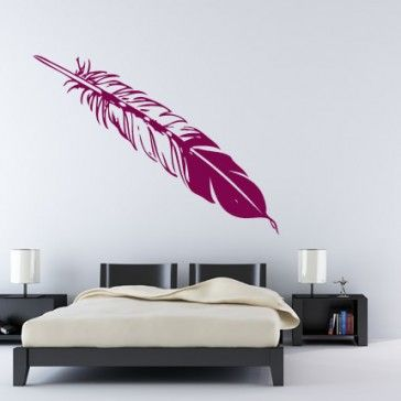 Birds Feather Birds Animals Wall Stickers Wall Art Decals - Birds and Feathers - Animals