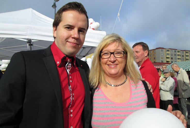 Ari Wigelius & Lilli Kilpinen SDP - Tampere 7.9.2013