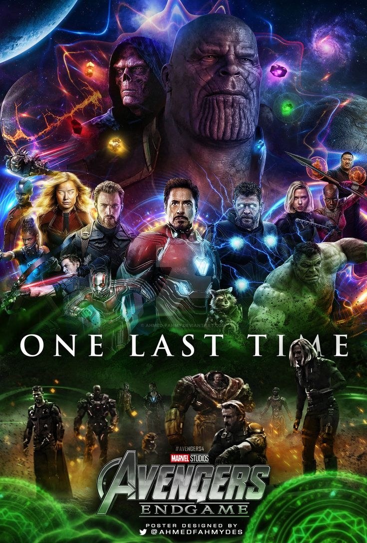 25 Fabulous Avengers Endgame Fanmade Posters That Are Totally Gonna