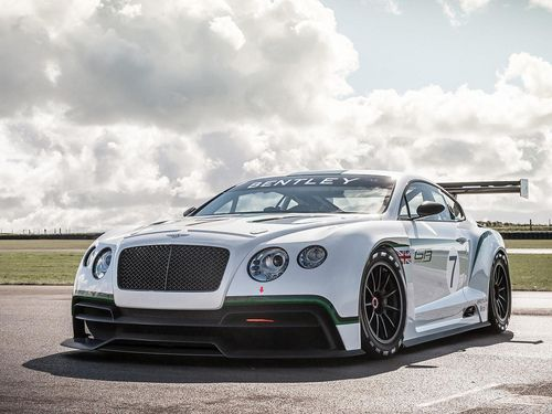 Bentley Continental GT3 concept racer (by GermanCarScene)