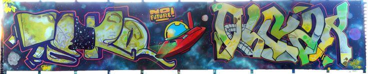 Graffiti Creator:Oscar, Tedko / Burgas / Walls Graffiti. Feast your eyes with graffiti arts from Bombing Science!