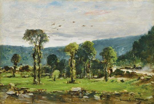 Munkácsy Mihály (1844-1900) - Tájkép