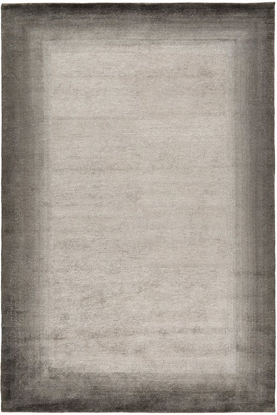 Bamboo Border Charcoal - Bordered rugs - Contemporary Rugs - Shop Collection The Rug Company