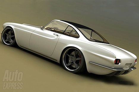 FOLLOW SUPER CARS - Volvo 1800 concept - See the worlds finest Cars