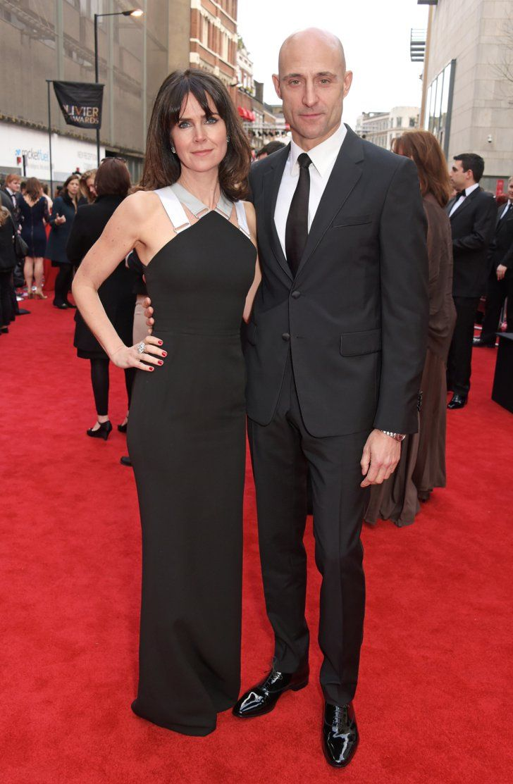 Pin for Later: The Stars Brought Sexy Back to London at the Olivier Awards Liza Marshall and Mark Strong