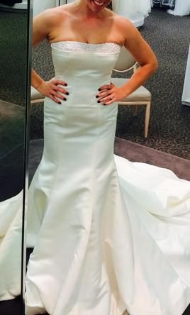 Zac Posen Truly ZP 345008 6: buy this dress for a fraction of the salon price on PreOwnedWeddingDresses.com #wedding #mybigday