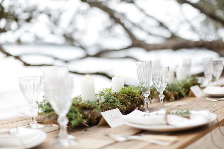 'Mother Earth' themed tablescape. Design & handlettering by Laura Blade. Photography by Anna Kidman.