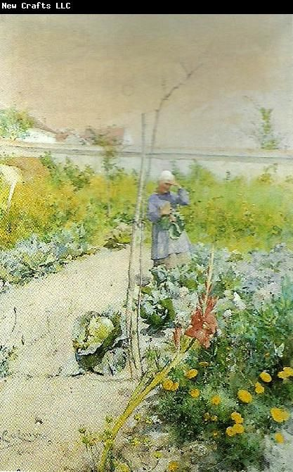 Carl Larsson i kakstradgarden 1883*  Wow! have never seen this carl Larsson.  The watercolors of his home and children are outstanding also.