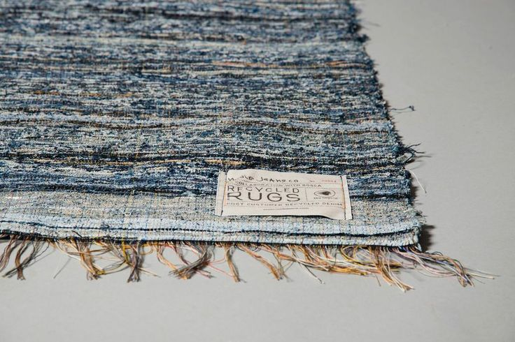 Dwell - Scandinavian Rag Rugs Made from Recycled Denim